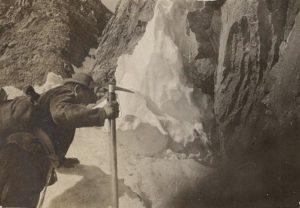 Salendo alla Dent Decot 1919
