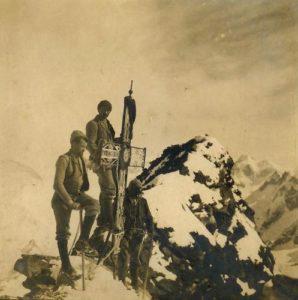 Sul Cervino 1905