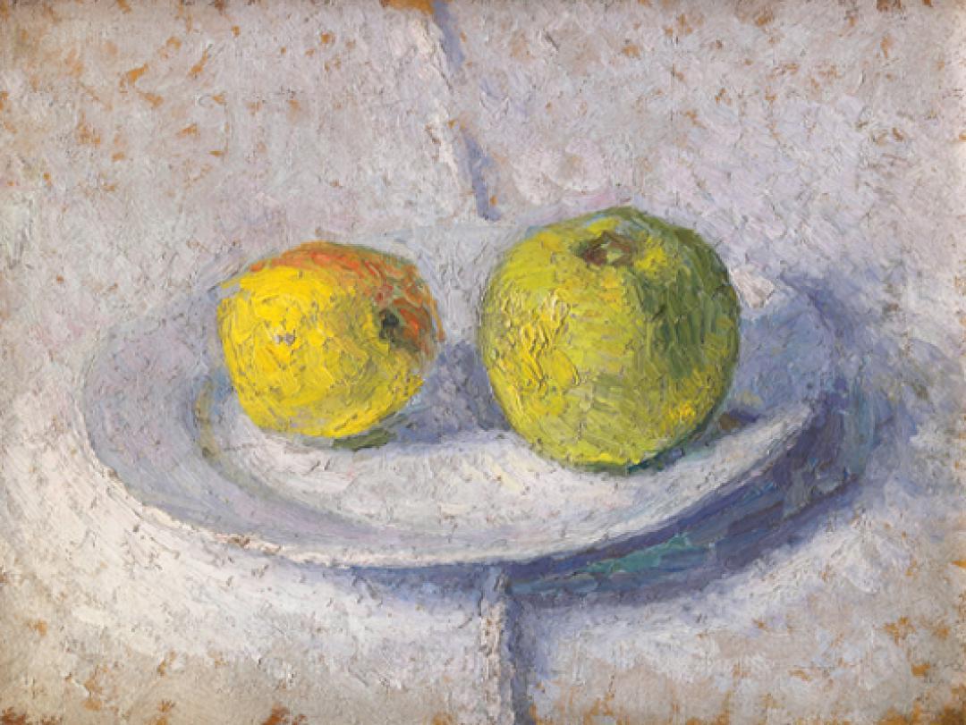 Mele gialle (Natura morta con due mele)