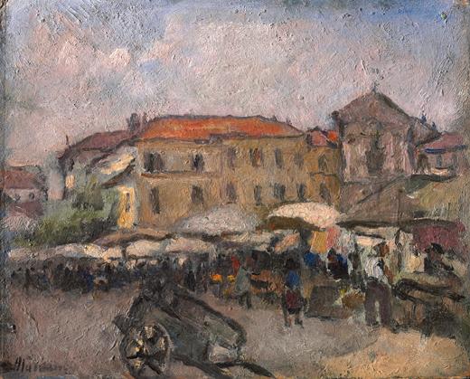 Mercato della Crocetta a Torino