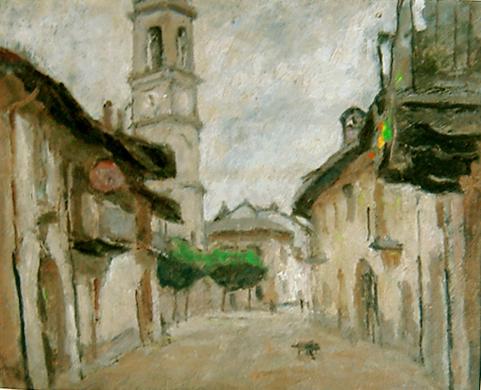 Strada di villaggio-3