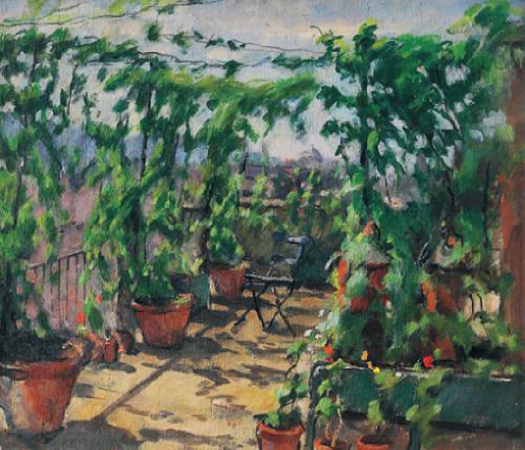 Il terrazzo dello studio-1