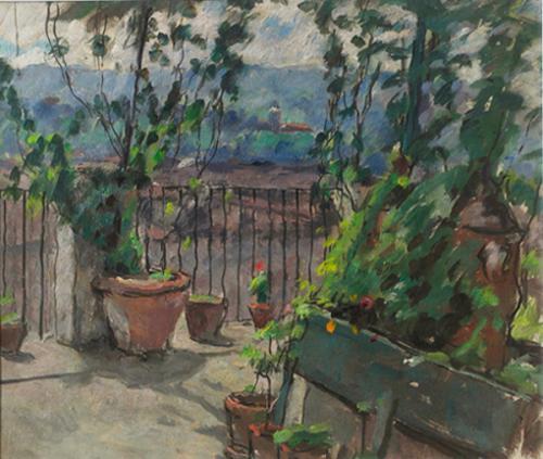 Il terrazzo dello studio-2