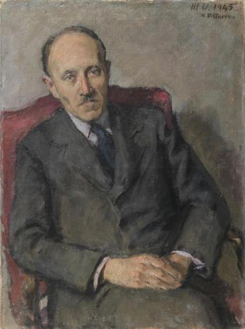 Ritratto di Camillo Artom
