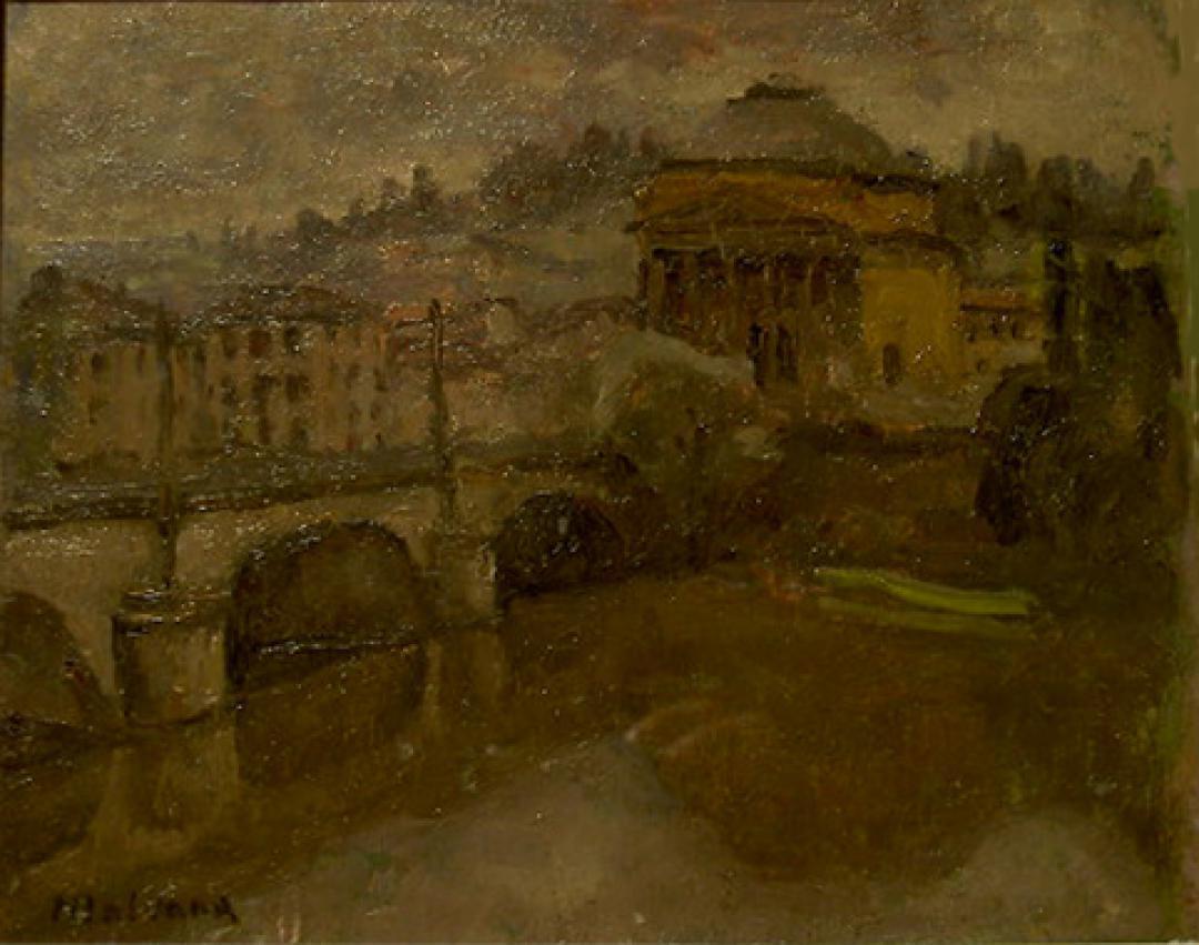 Il ponte Vittorio Emanuele e la Gran Madre