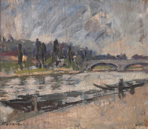 Ponte Umberto (Barche sul Po)