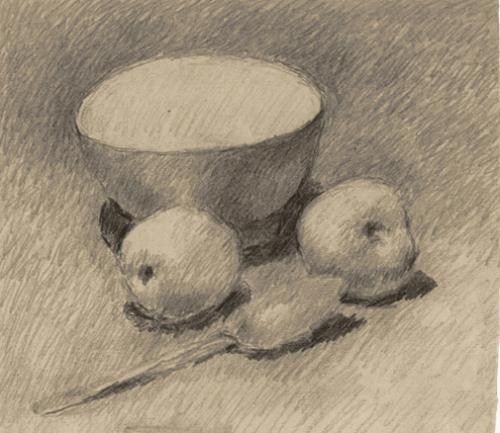 Scodella e due mele