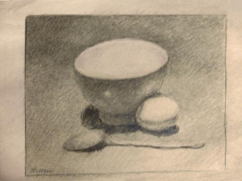 Scodella e uovo