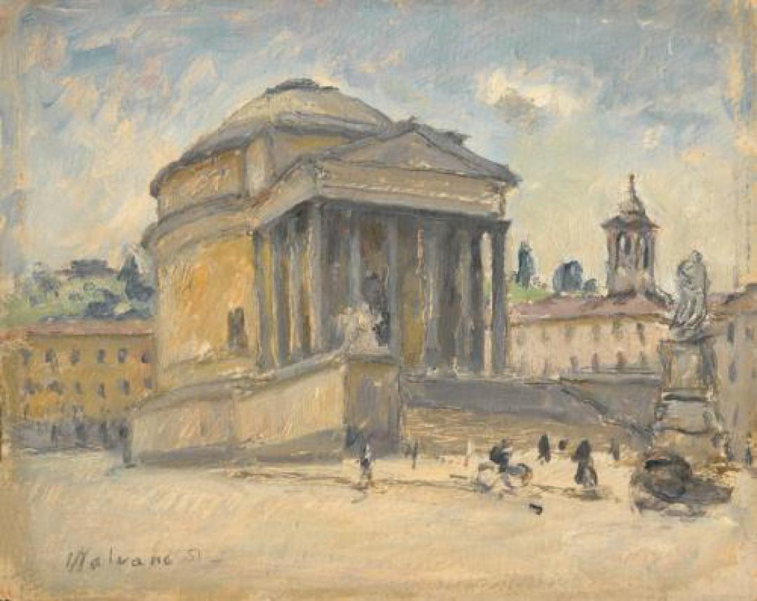 Piazza Gran Madre a Torino
