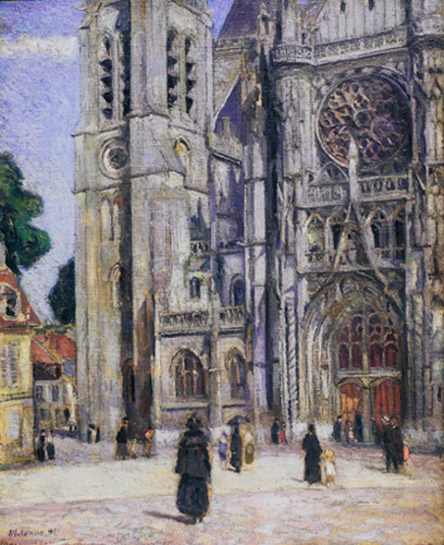 La cattedrale di Senlis