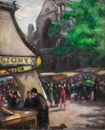 Mercato di Saint Médard a Parigi