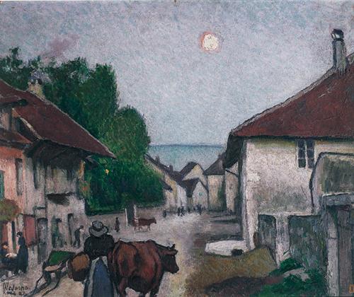 Sera nel villaggio (Culoz)