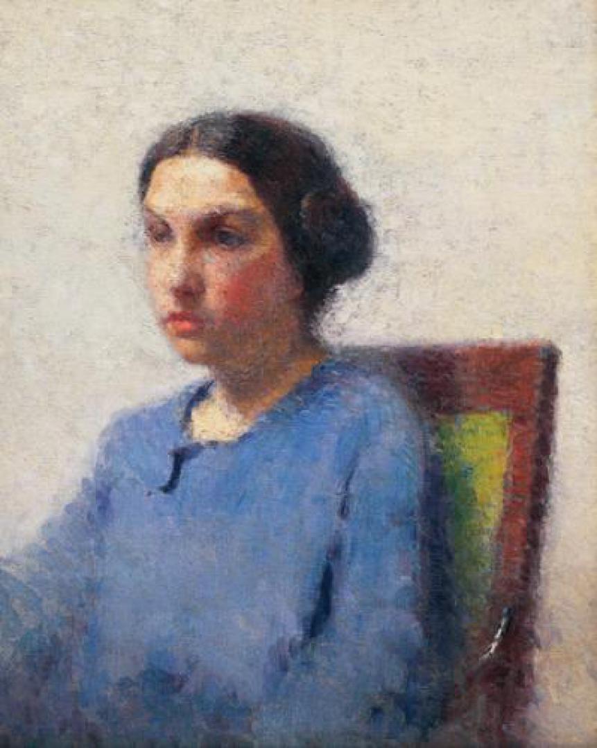 Ritratto di ragazza (Ritratto di donna seduta)