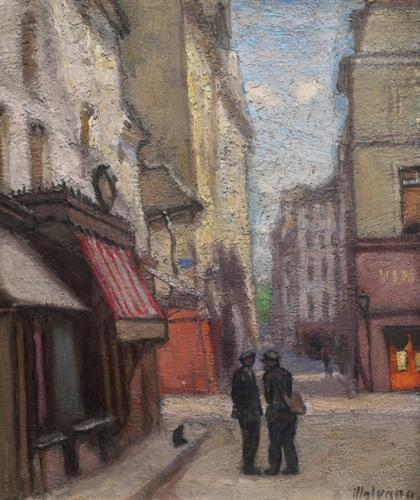 Strada di città francese