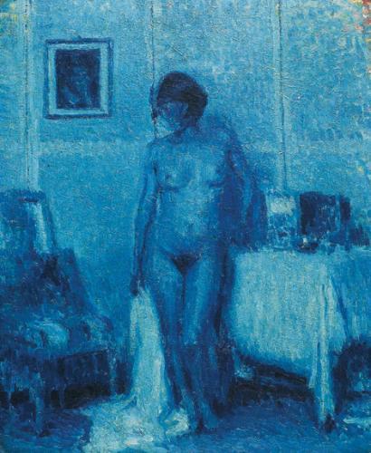 Nudo azzurro