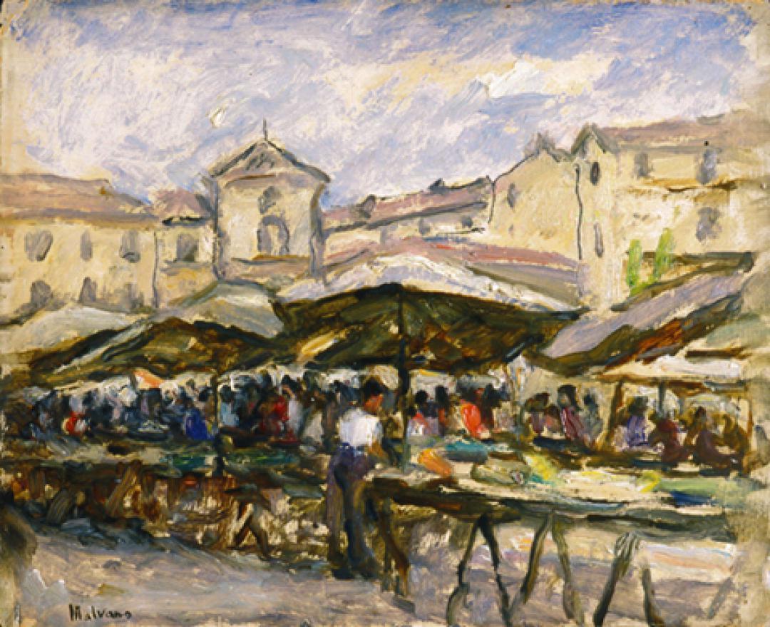 Il mercato della Crocetta, Torino