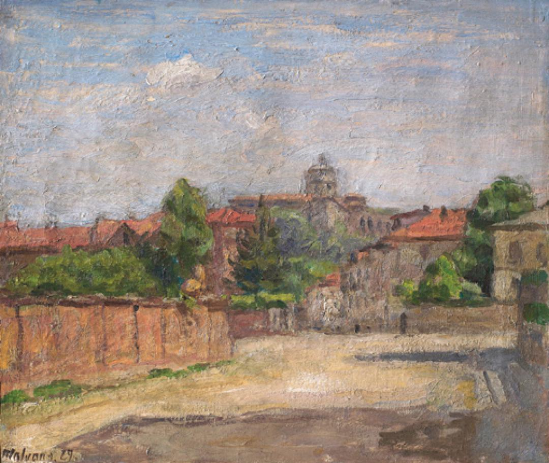 Angolo di Torino con il Monte dei Cappuccini