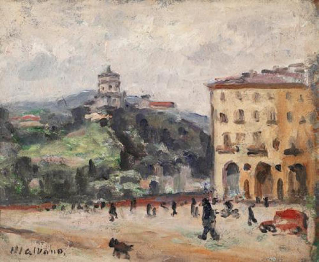 Piazza Vittorio e Monte dei Cappuccini