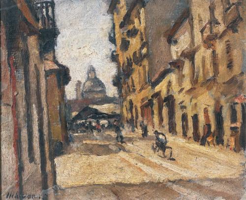 Piazza Carlina da via Accademia Albertina