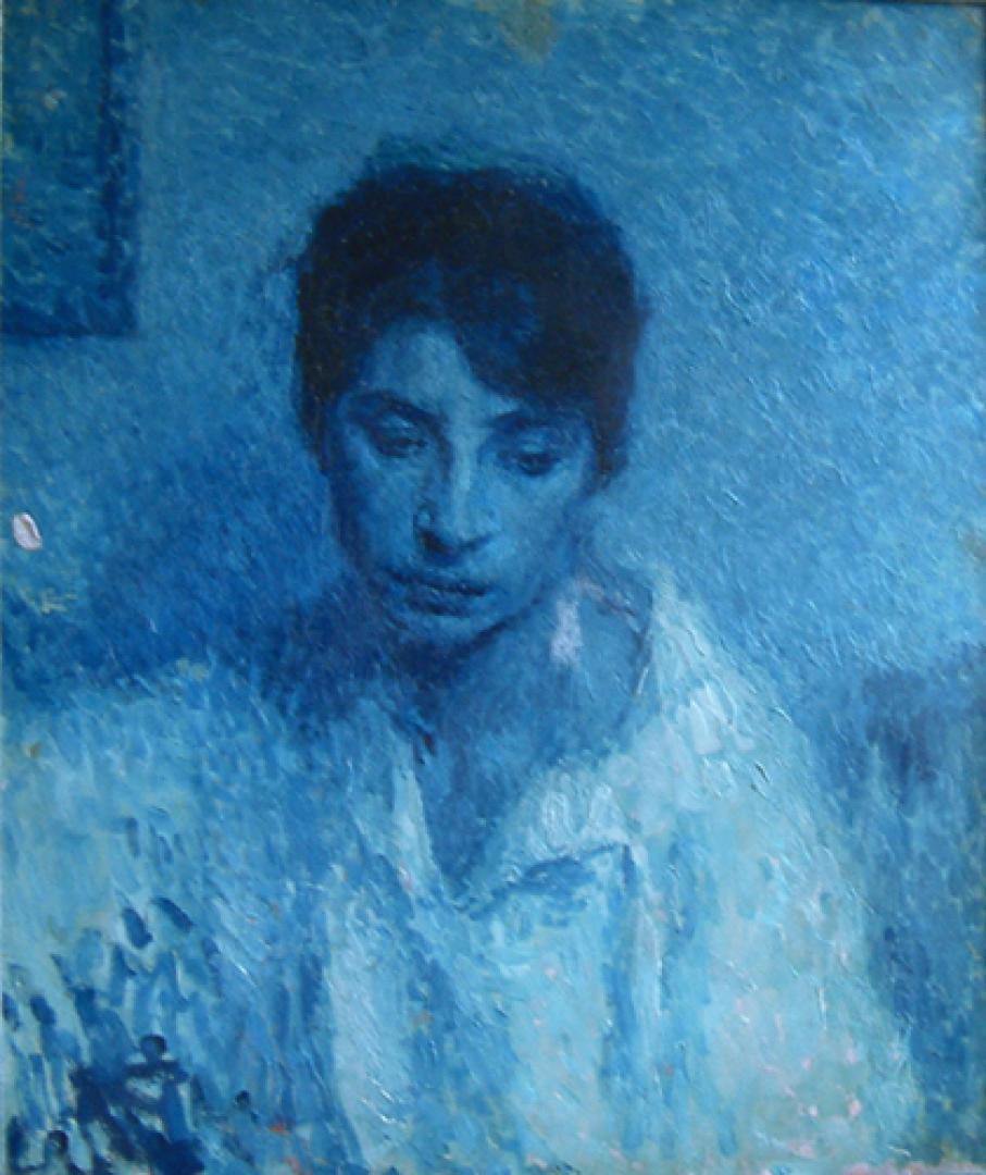 Ritratto azzurro