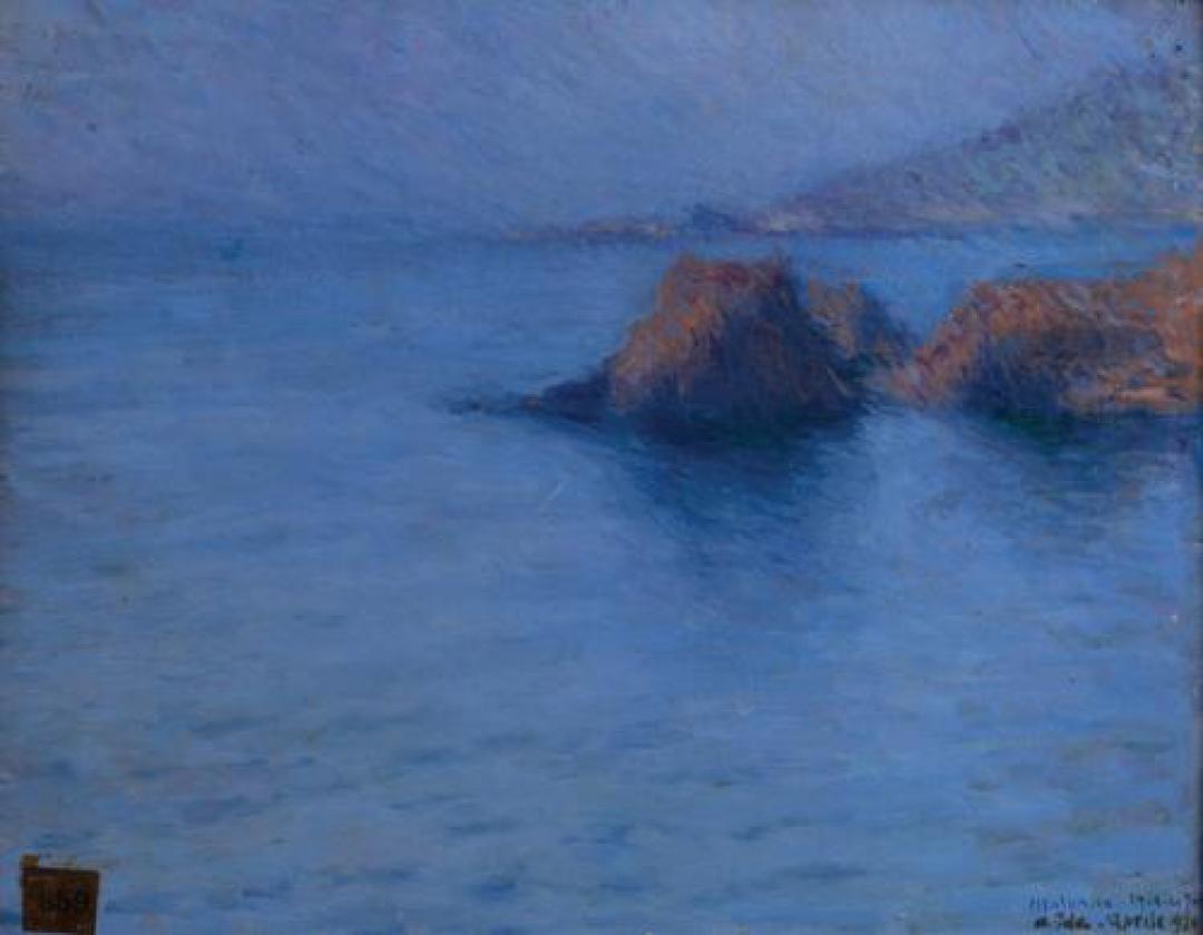 Le Trayas, mare