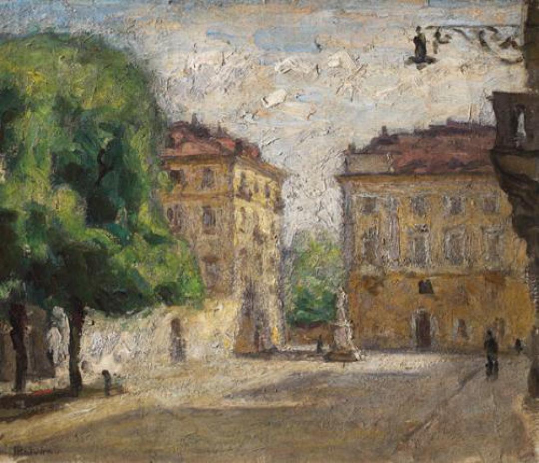 Piazza Maria Teresa a Torino