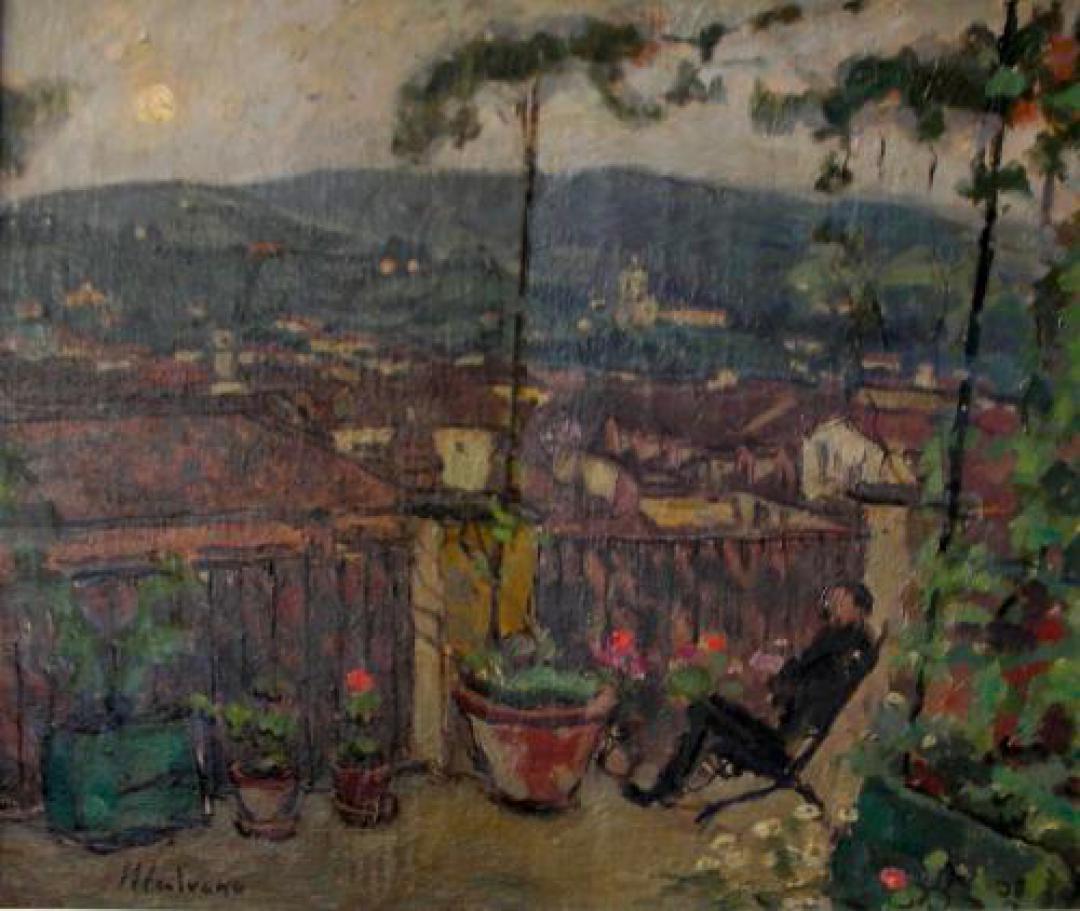 Terrazzo su Torino