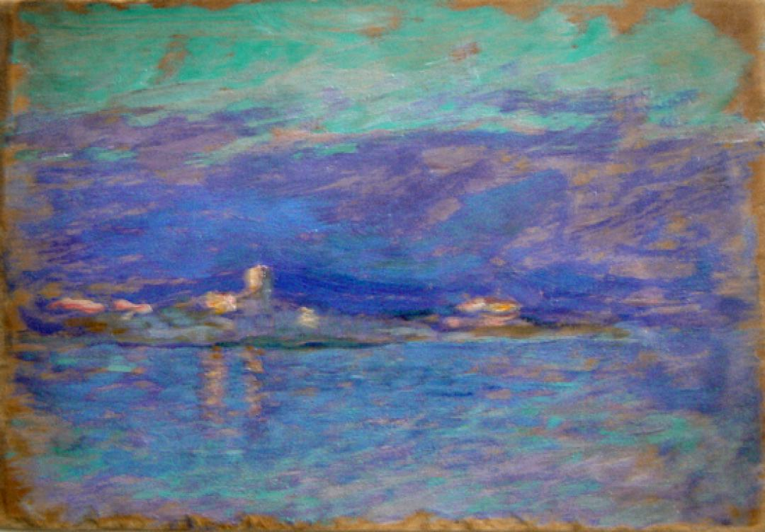 Antibes (fra mare e cielo)