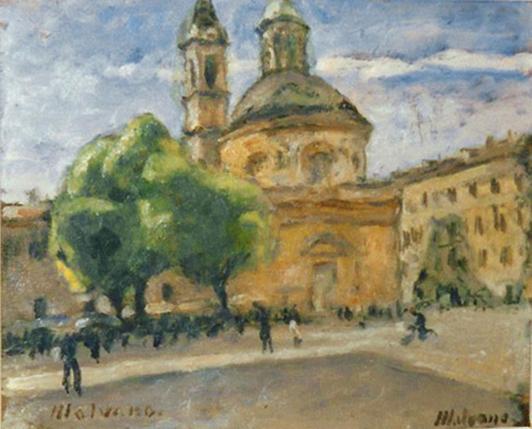 Piazza Carlina a Torino