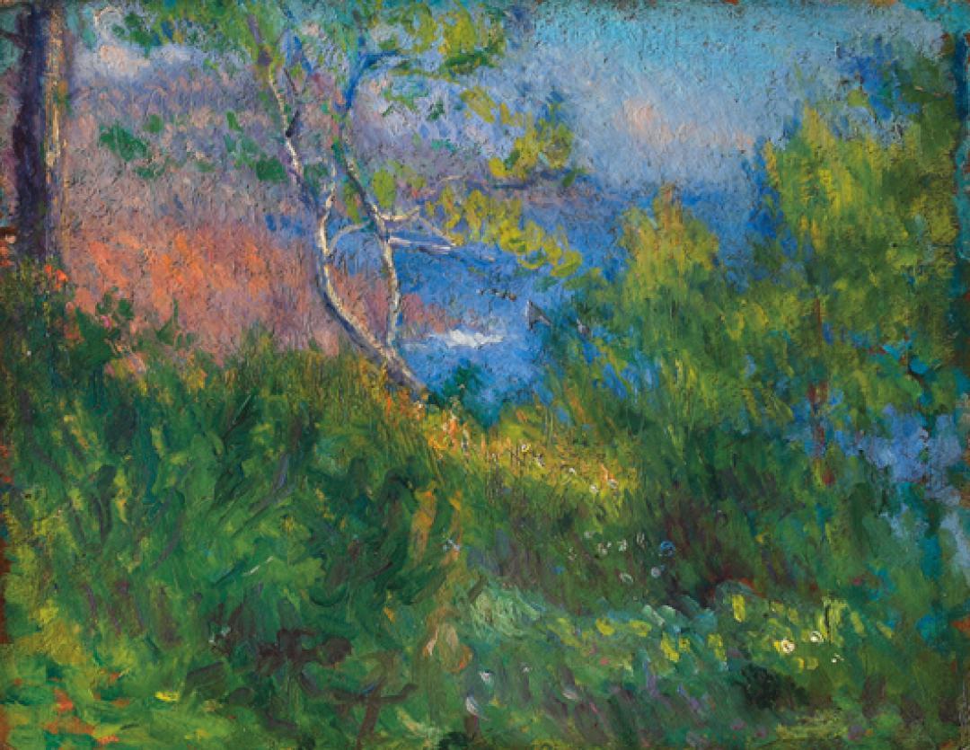Paesaggio in riviera