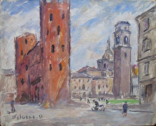 Le Porte Palatine e Piazza S.Giovanni