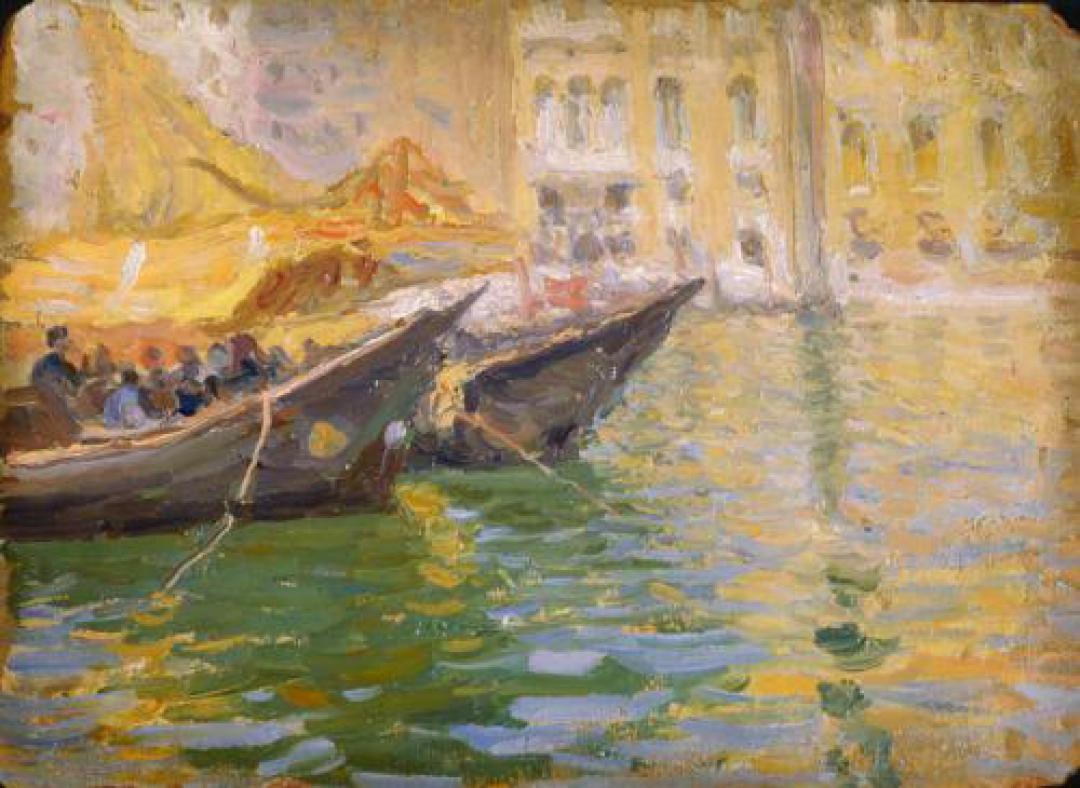 Barconi nel porto