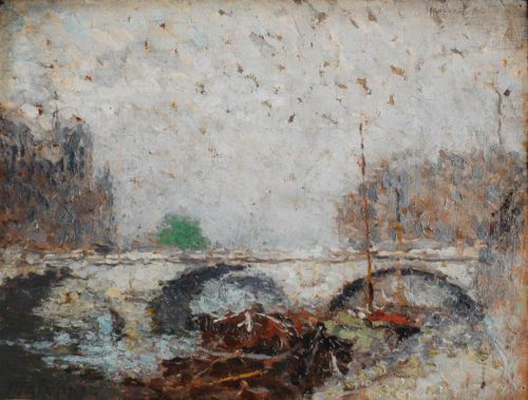 Pont St. Michel e Notre-Dame (Studio)